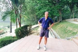 Pola Singh advises all seniors to keep exercising. - Photo copyright Pola Singh