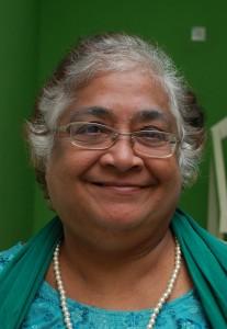 Rani Krishna: 'The club makes me happy.'