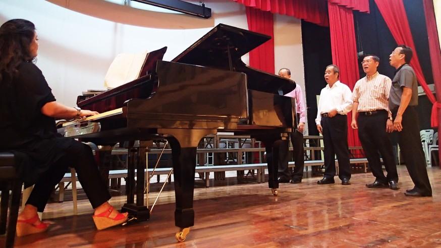 他们的欢乐时光——访隆雪中华大会堂合唱团