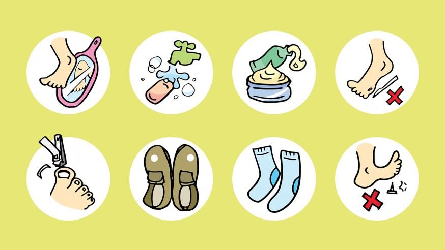 糖尿病患者不可忽视的护足措施