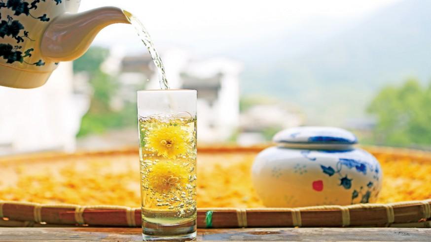 菊堡茶、菊普茶、菊宝茶