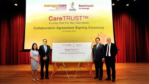 Managedcare与Kenanga及Rockwills®Trustee签署合作协议书