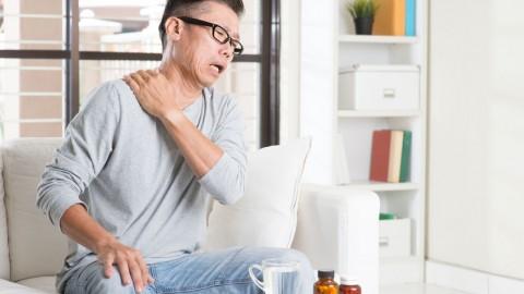 肩关节周围炎按摩法